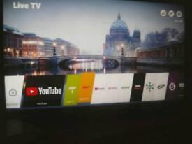 "49"" Smart LG UHD 4K TV"