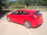 2014 64 Ford Focus Zetec S Kit TDCi 1.6 115 BHP Amazing Racing Red Sports Nearly New 14K Bargain