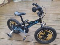 Kids batman bicycle