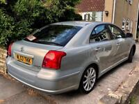 **LOW MILES+AUTO** TOYOTA AVENSIS 2.0 TSPIRIT AUTO + 1OWNER FROM NEW + SATNAV+AC + VERY CLEAN!!
