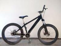 "(2557) 24"" 14.5"" Aluminium GT DIRT JUMP DISC SUSPENSION BIKE BICYCLE Height: 150+cm"