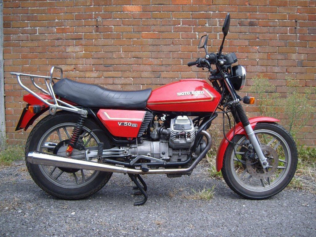 moto guzzi v50 mk iii 1981