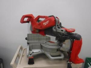Milwaukee 6955-20 Sliding Compound Miter Saw. We buy and sell new and used tools. 27515 CH615431