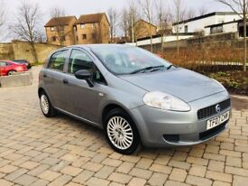 FIAT PUNTO 1.2 2007 MOT 11 MONTHS 5 DOOR HATCHBACK EXCELLENT CONDITION IN AND OUT