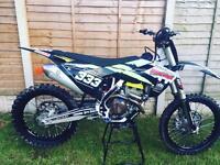 Husqvarna fc 250 2016 like new !! L@@k.. motocross bike not kxf yzf rmz ktm