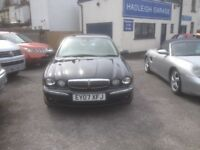 Beautiful Jaguar X-Type LOW MILEAGE
