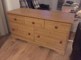 Low level Chest of drawers