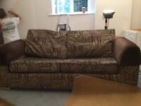 SOFA BED - RELYON DOUBLE - IDEAL FOR EXTRA GUESTS AT CHRISTMAS