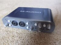 M-Audio ast Track Pro Computer midi interface