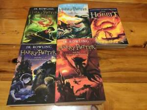 Harry Potter books and The Hobbit