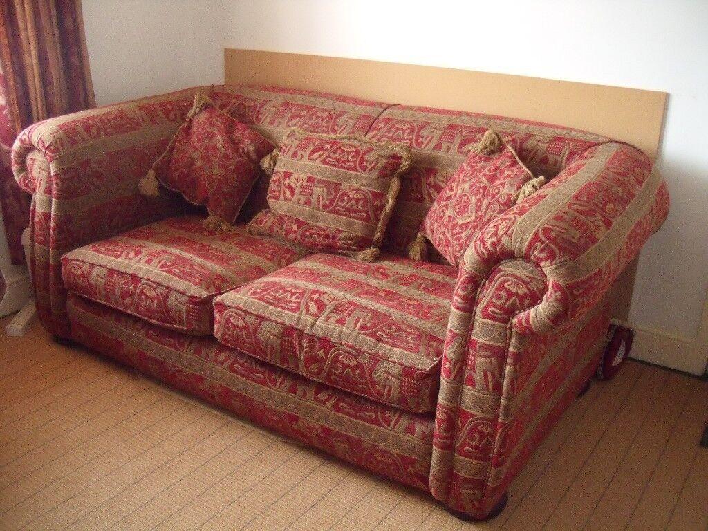 Unusual Sofa Settee Armchair Easychair Comfortable