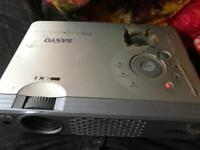 Sanyo Projector - Well used - totally functional.