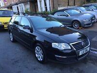 VW VOLKSWAGEN PASSAT 2.0 DIESEL ESTATE 2007 AUTOMATIC GOOD MILEAGE FULL HISTORY CLEAN CAR LONG MOT