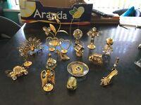 Brass effect ornaments