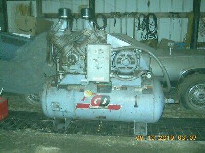 Industrial Air Compressor Gardner Denver Hra12-12 25hp 240 3ph