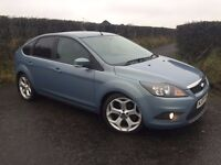 """2009 FORD FOCUS 1.8 TDCI ZETEC 115 BHP 18"""" ST ALLOYS PRIVACY AIR CON FINANCE AVAILABLE MAY PART X"""