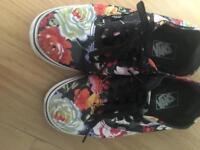 Size 6 floral vans