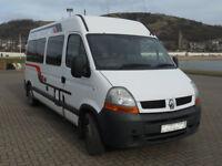 Renault Campervan for disabled passenger or cargo movement