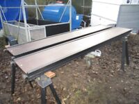PAIR OF 7FT-6IN VERY HEAVY DUTY RAMPS IDEAL TRAILER TRUCK TRACTOR PLANT ETC....
