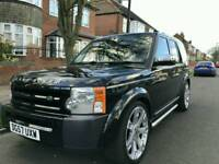LAND ROVER DISCOVERY 08 AUTO BLACK 32500 MILES