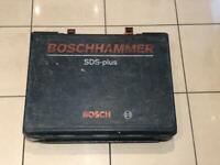 Bosch sds cordless hammer drill (needs battery)