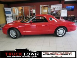 2002 Ford Thunderbird CONVERTIBLE-LOW KMS-V8