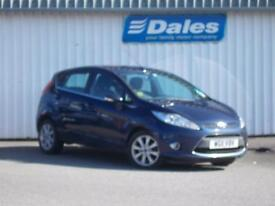 Ford Fiesta Zetec 1.4 - 5 Door Petrol (blue) 2011