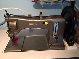 INDUSTRIAL SEWING MACHINE Ultra Heavy Duty SINGER 7 CLASS