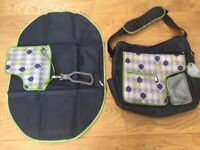 JJ Cole baby changing bag. Good condition