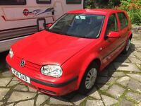 2000 Volkswagen Golf E SDI, DIESEL, not GT TDI, years MOT good condition, REDUCED
