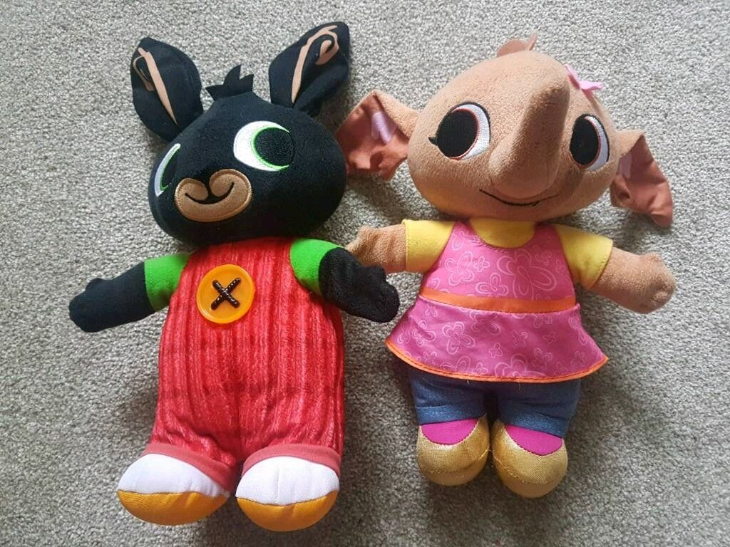 Bing and Sula plush toys