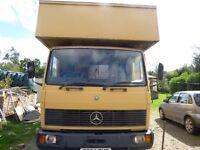 Mercedes 814 Horsebox