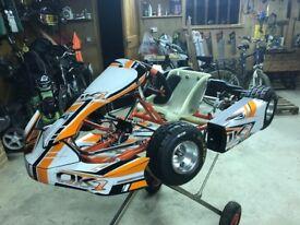 Intrepid OK1 Bambino 50cc Go Kart suit 4-7 year old