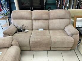 3-Seater Recliner Sofa