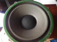 """Two Warfdale Vintage 12"""" speakers Model 3014"""