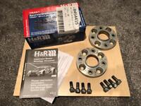 2x 20mm H&R DRA Hubcentric Spacers & 2x 15mm K-TEC Hubcentric Spacers