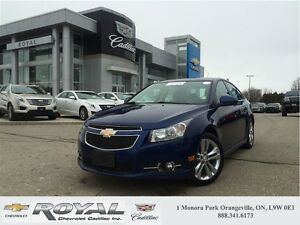 2013 Chevrolet Cruze LT Turbo * SUNROOF * LEATHER