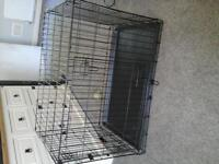 lare dog crate or cage
