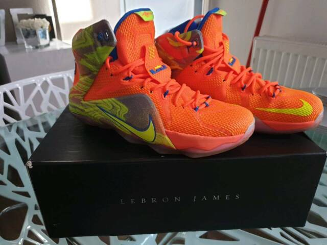 info for 61ae7 ef002 Nike Lebron XII 12 Six Meridians Men s Size 9 Basketball Shoes
