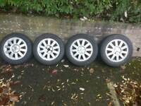 "Renault wheels 16"" 4X100"