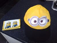 New - Childs Minion's cap & wallet