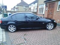 BMW 3 series Msport black, Automatic transmission, Low mileage, excellent condition inside out