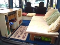 Fiat Doblo High Roof Camper Van Camping/Day Car 2003. Quirky unique interior - something different!