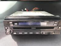 In car dvd head unit and gps sat nav untested swap for standard unit