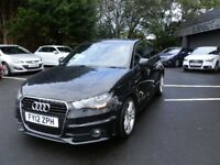Audi A1 1.4 TFSI ( 122ps ) Tronic 2012MY S Line/ 49000 miles warranted/ Automatic / Tidy throughout