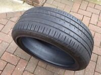 "235 45 19"" Pirelli Part Worn Tyre 4.75mm Tread Depth"