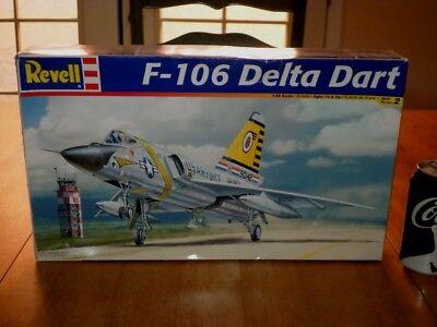 F-106 Delta Dart USA Fighter Plane Plastic Model Kit Scale: 1/48 VINTAGE
