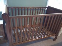 Mothercare cot with teething guards. Great condition.