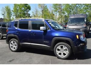2017 Jeep Renegade Limited 4x4+Navigation+toit+