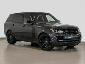 2017 Land Rover Range Rover V8 Supercharged SWB @2.9% INTEREST C
